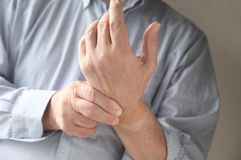 wrist pain pinky side