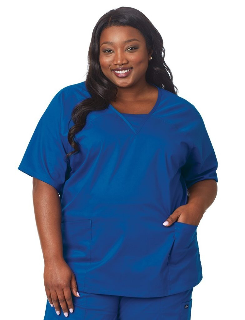 best plus size scrubs