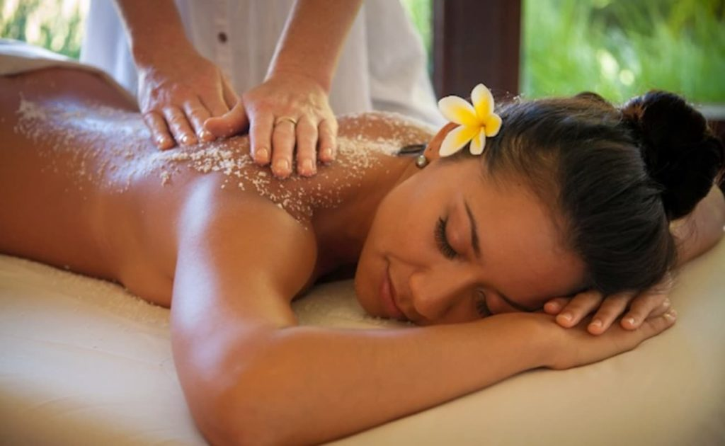 body scrub massage