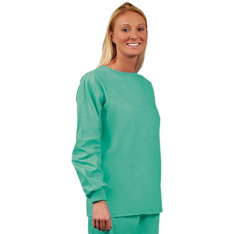 scrub long sleeve tops